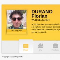 Profesionnal CV Card thumb